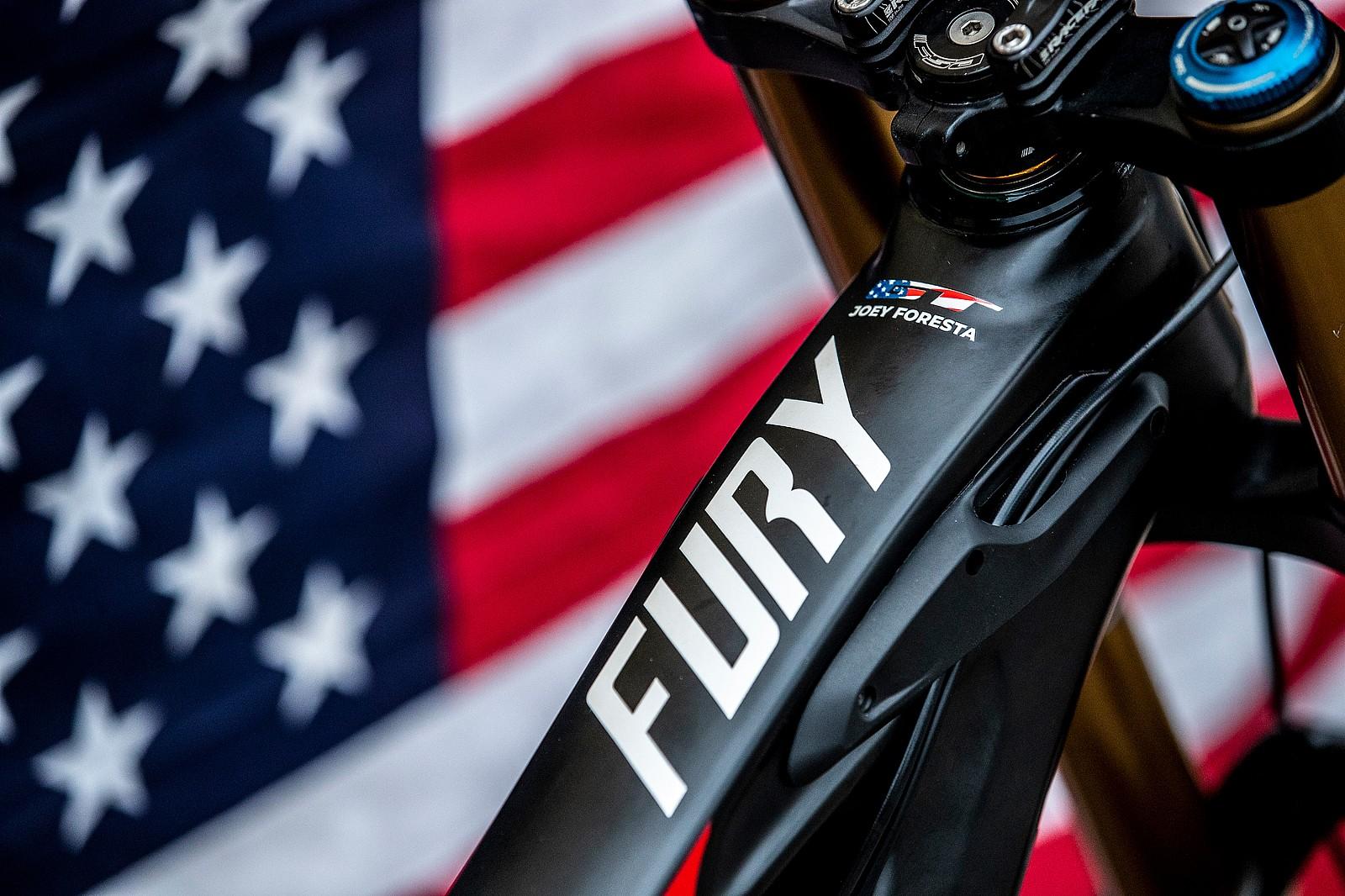 #USDH Fury Schrapler - GT Bicycles World Championships DH Race Bikes - Mountain Biking Pictures - Vital MTB