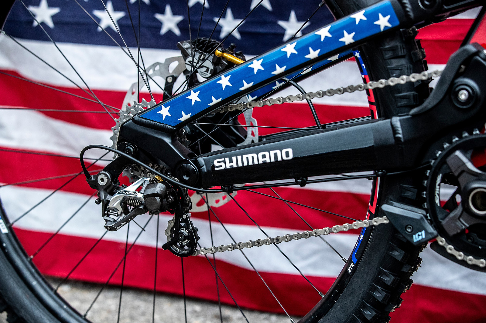 Shimano Saint Drivetrain - GT Bicycles World Championships DH Race Bikes - Mountain Biking Pictures - Vital MTB