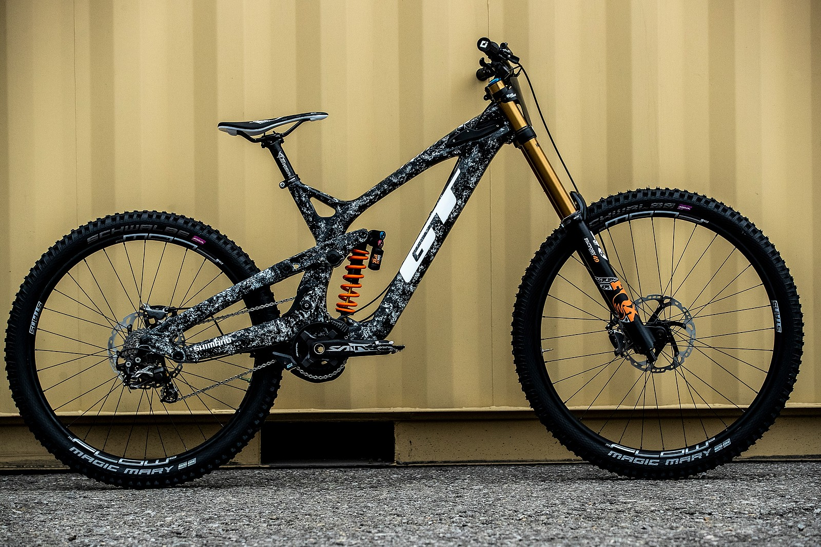 Wyn Masters' GT Fury For World Championships - GT Bicycles World Championships DH Race Bikes - Mountain Biking Pictures - Vital MTB
