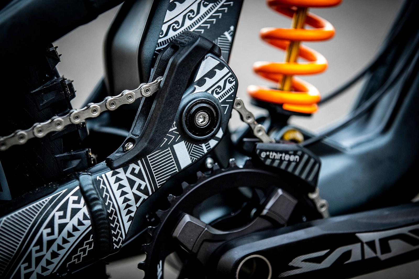 George Brannigan's GT Fury For World Championships - GT Bicycles World Championships DH Race Bikes - Mountain Biking Pictures - Vital MTB