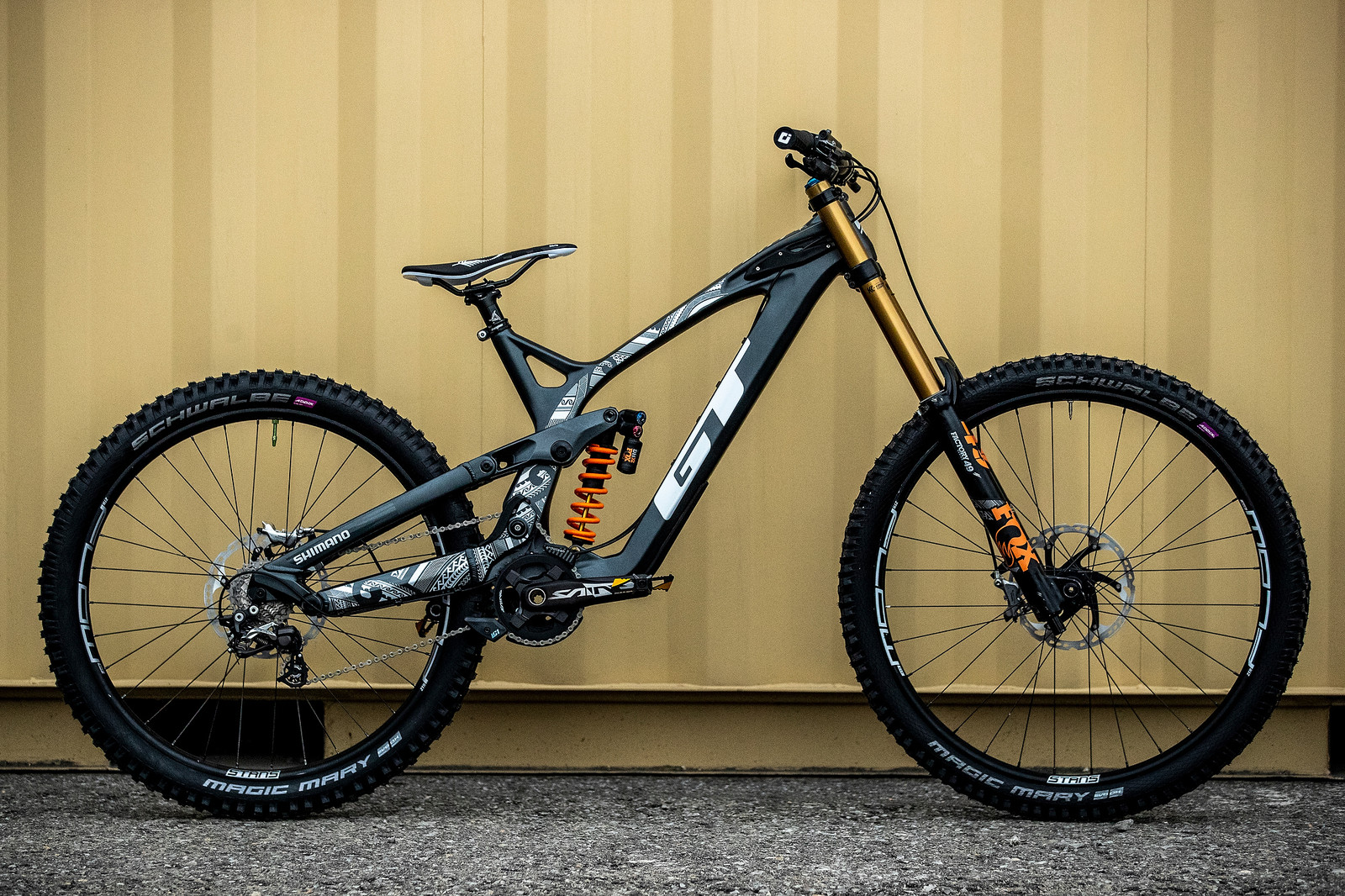 George Brannigan's GT Fury For World Championships - GT Bicycles World Championships DH Race Bikes - Mountain Biking Pictures - Vital MTB