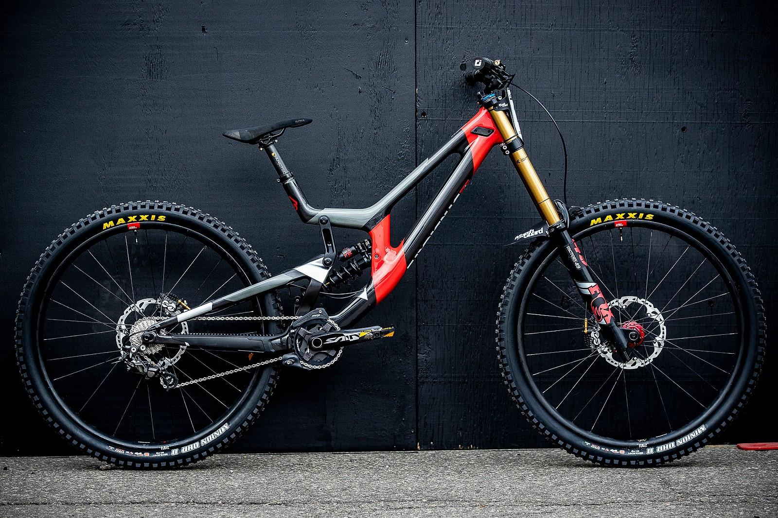Luca Shaw's Santa Cruz V10 for World Champs - Santa Cruz Syndicate 2019 World Championships Race Bikes - Mountain Biking Pictures - Vital MTB