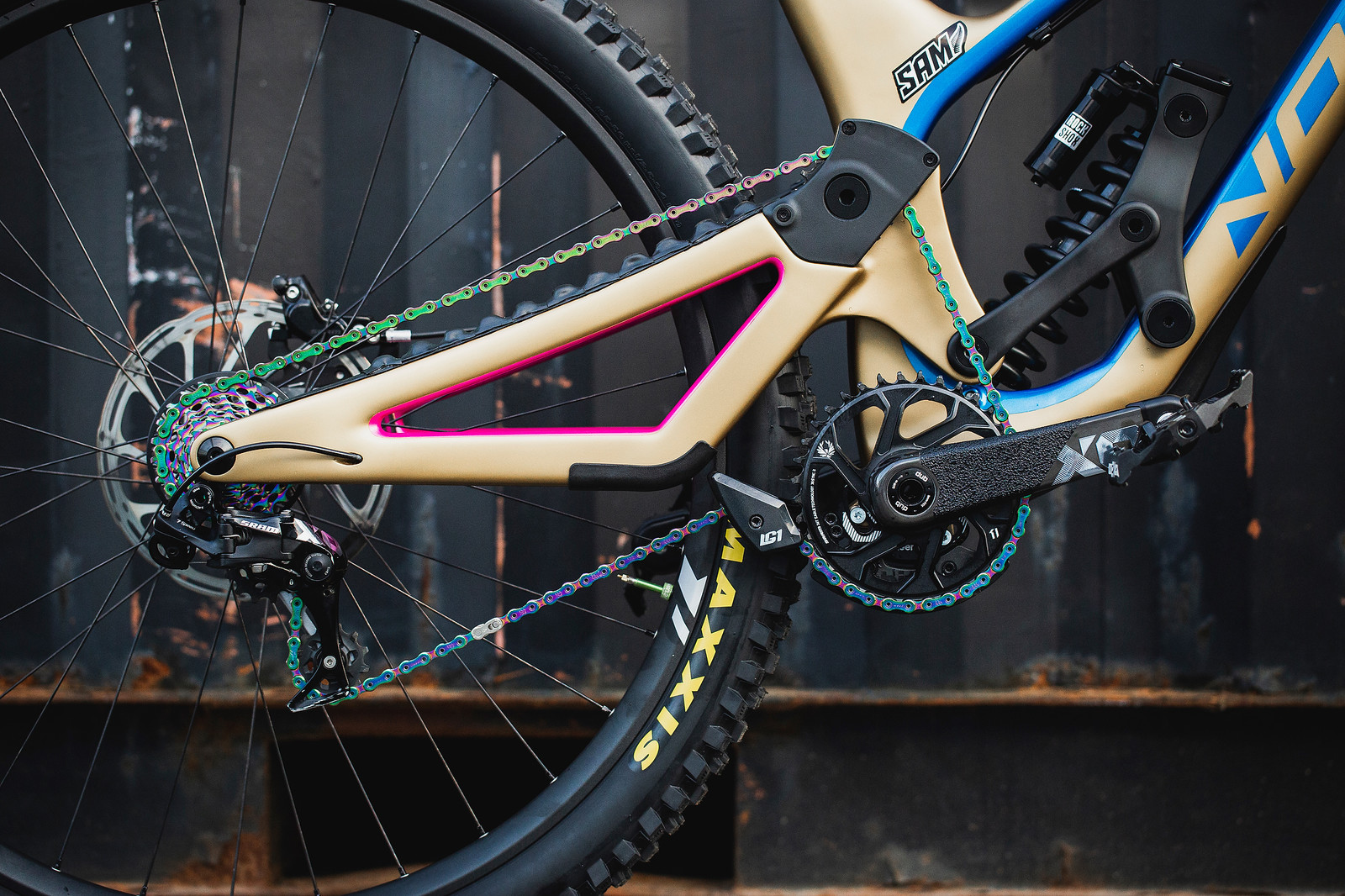 Sam Blenkinsop's Norco Aurum HSP for the 2019 World Championships - 1993 Norco High Single Pivot vs. 2019 Norco HSP - Mountain Biking Pictures - Vital MTB