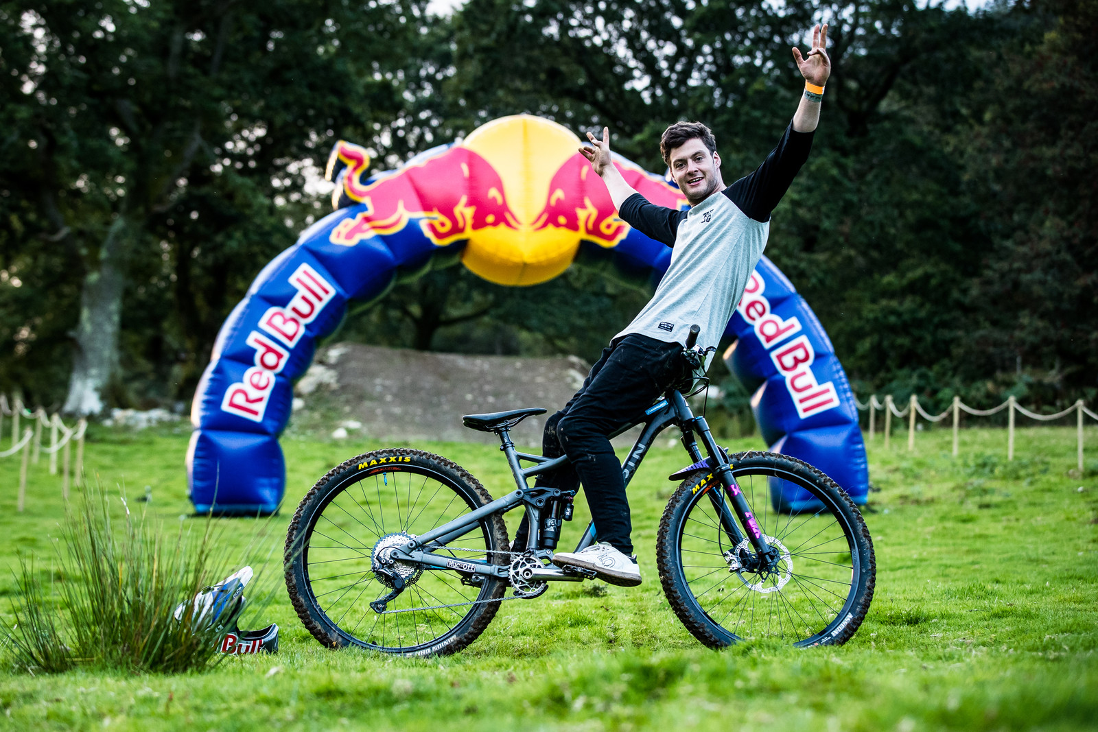 Matt Jones with his Marin Alpine Trail  - The Bikes of Red Bull Hardline - Mountain Biking Pictures - Vital MTB