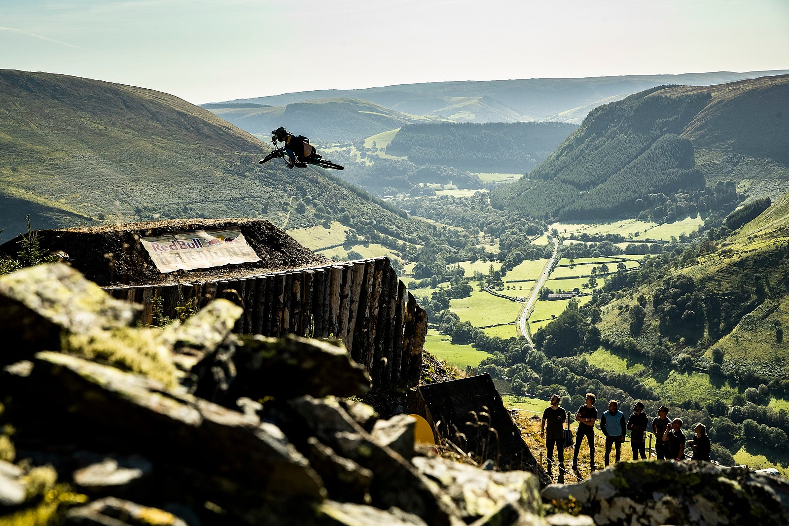 Dave McMillan - Red Bull Hardline in Photos - Mountain Biking Pictures - Vital MTB