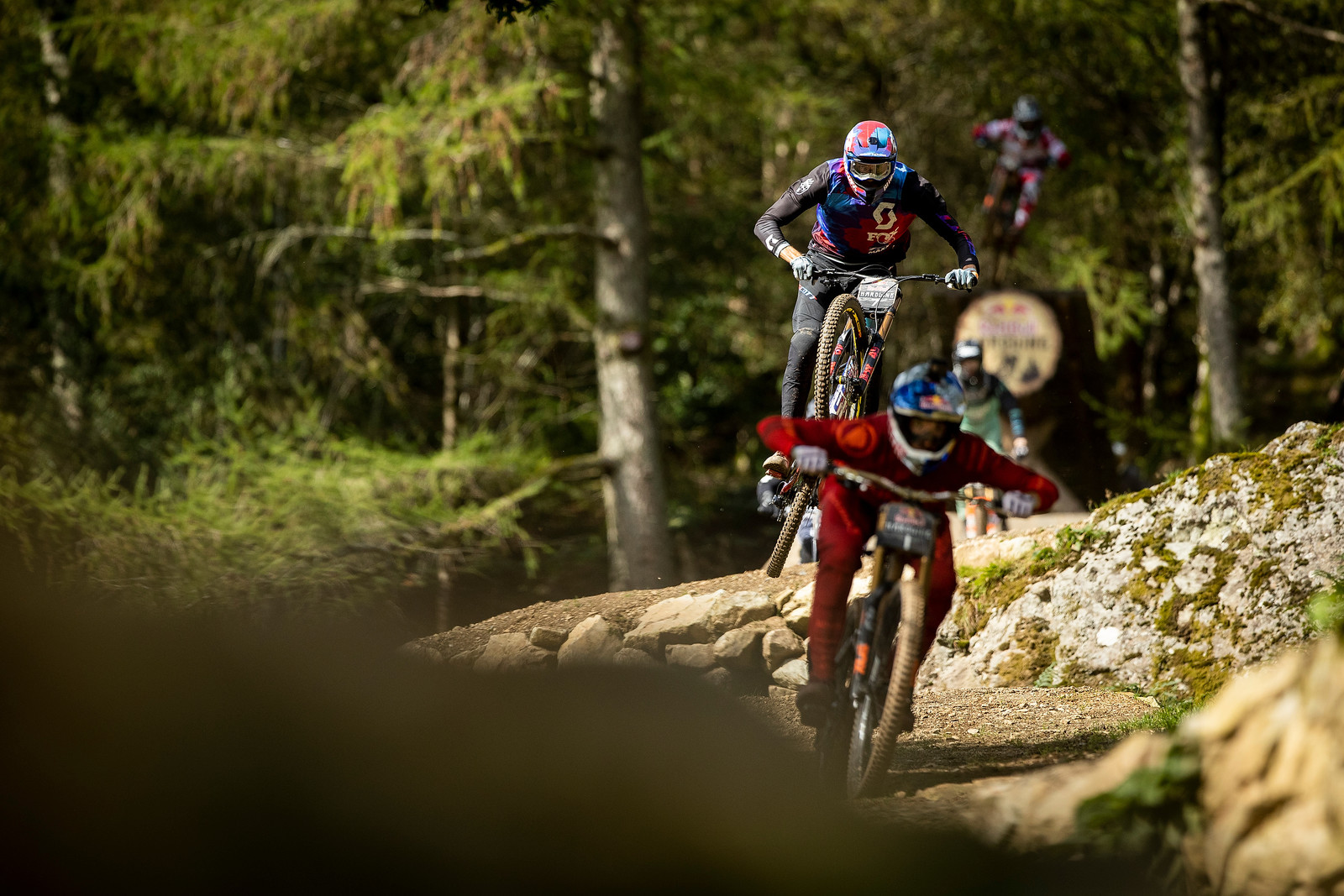 Florent Payet - Red Bull Hardline in Photos - Mountain Biking Pictures - Vital MTB