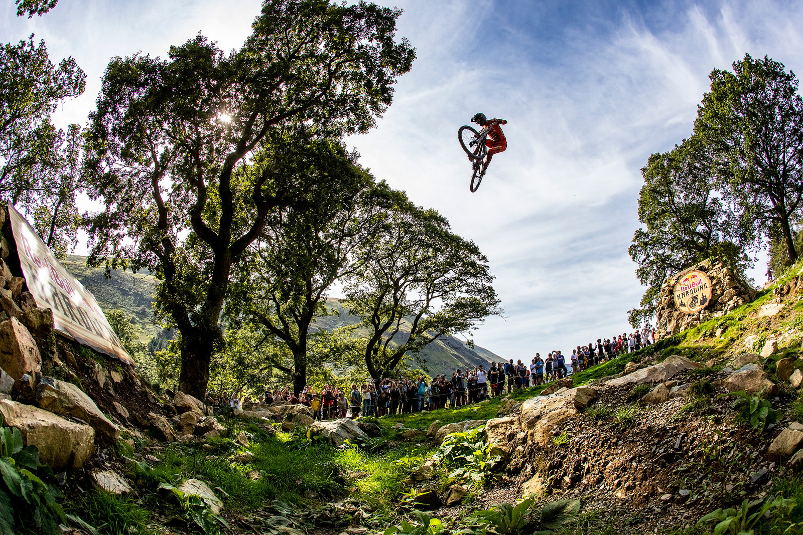 Charlie Hatton - Red Bull Hardline in Photos - Mountain Biking Pictures - Vital MTB