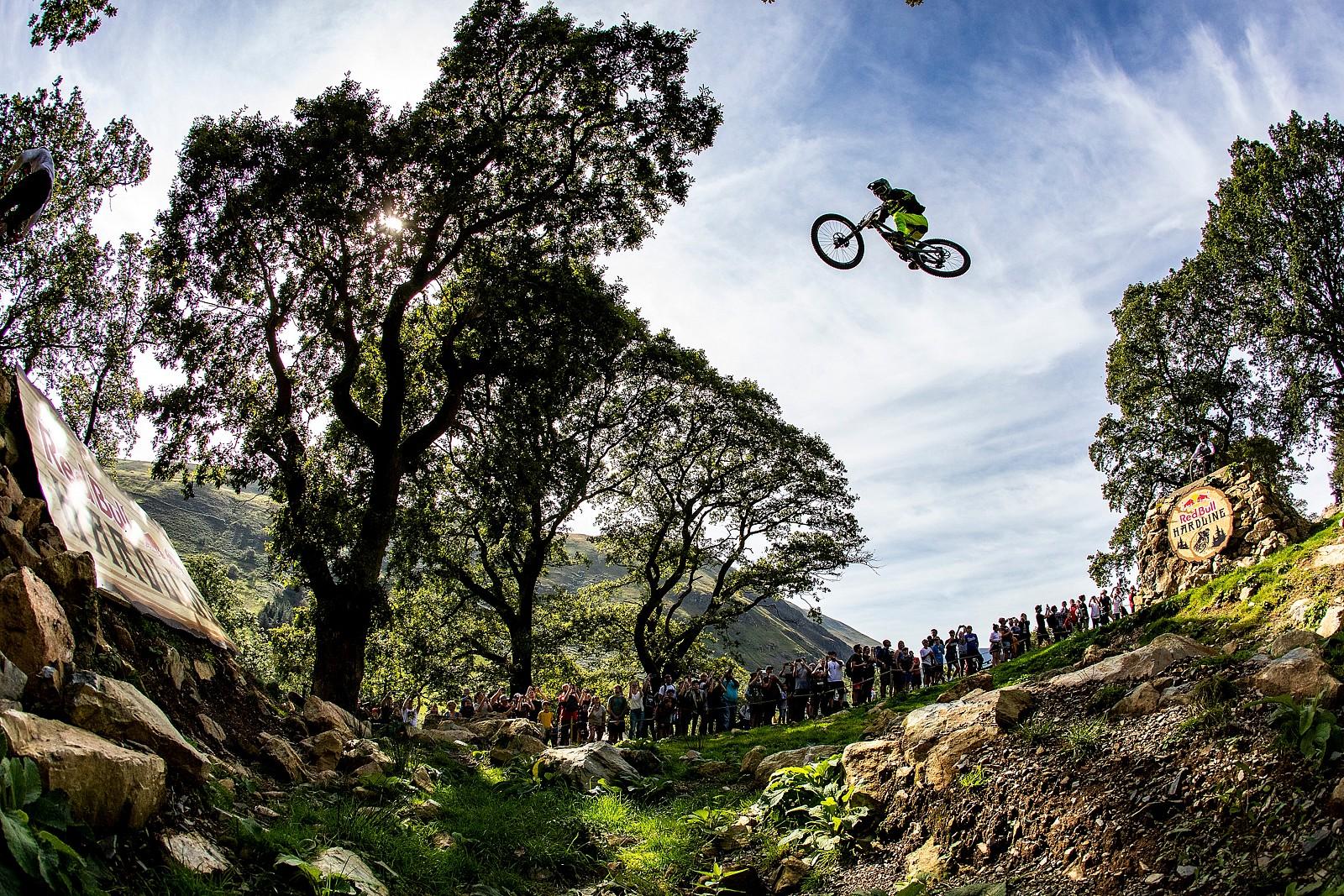 Brendan Fairclough - Red Bull Hardline in Photos - Mountain Biking Pictures - Vital MTB