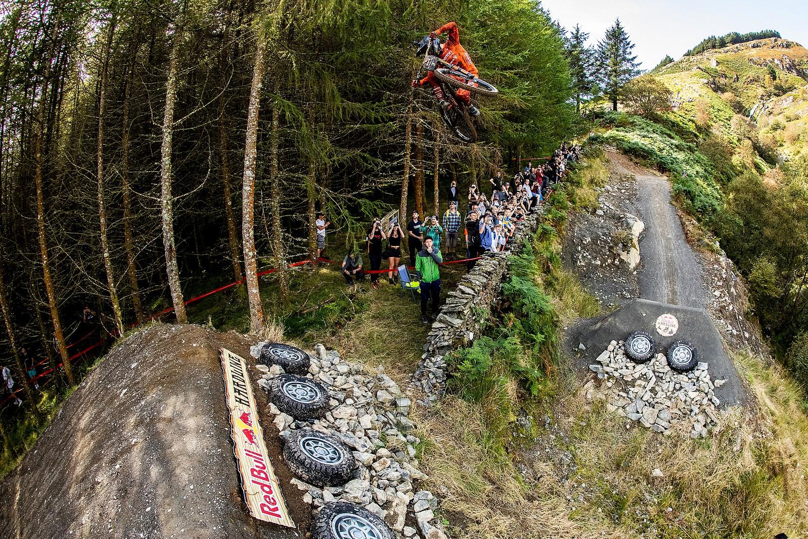 Charlie Hatton - Red Bull Hardline in Photos - Mountain Biking Pictures - Vital MTB