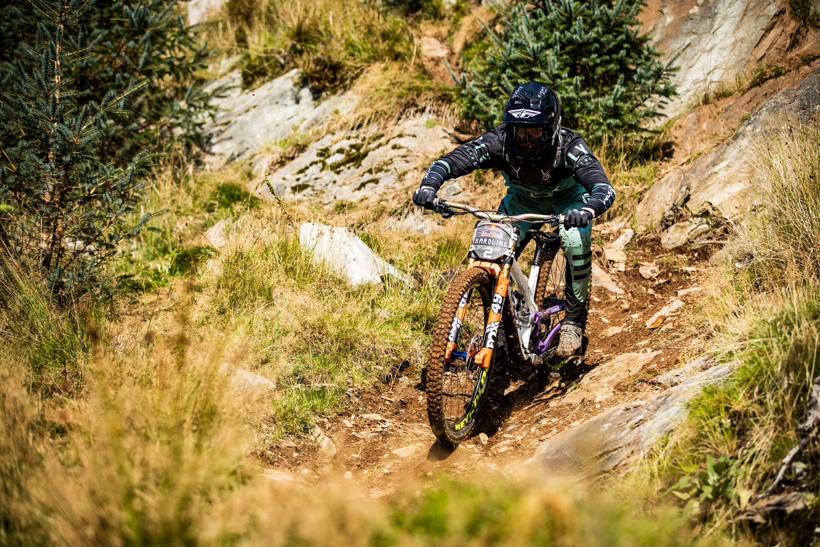 Bernard Kerr - Red Bull Hardline in Photos - Mountain Biking Pictures - Vital MTB