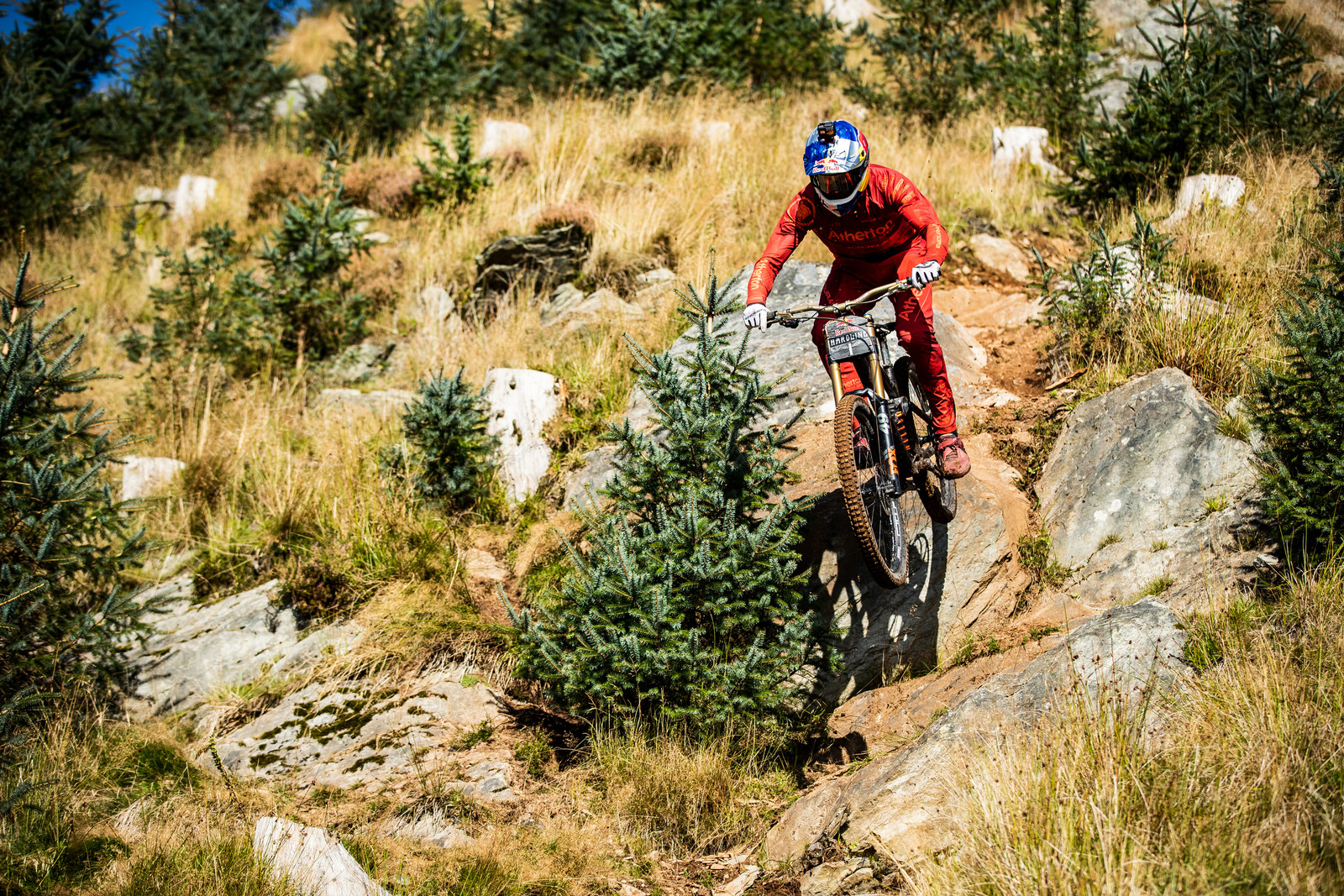 Gee Atherton - Red Bull Hardline in Photos - Mountain Biking Pictures - Vital MTB