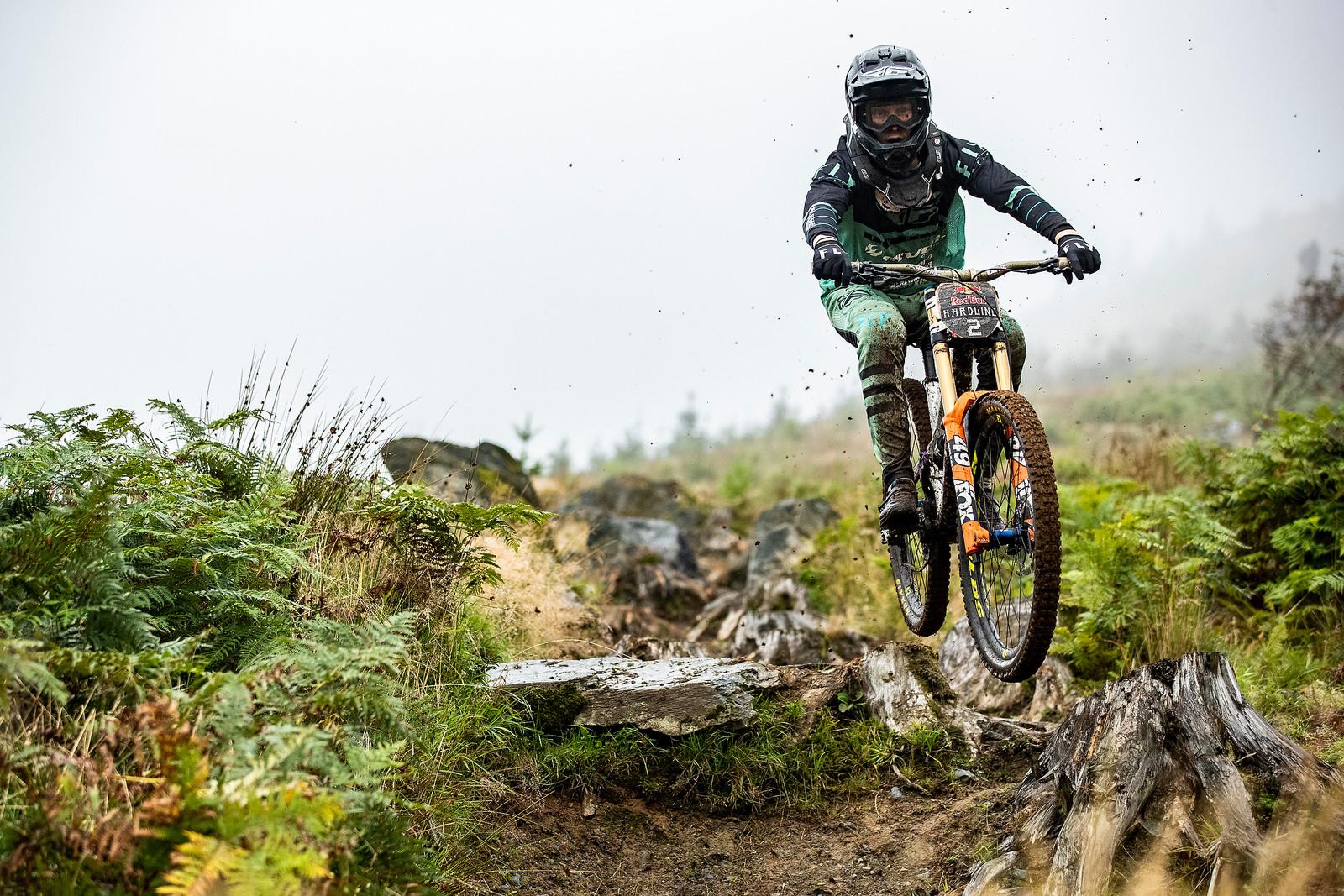 Bernard Kerr - Red Bull Hardline in Photos - Mountain Biking Pictures - Vital MTB