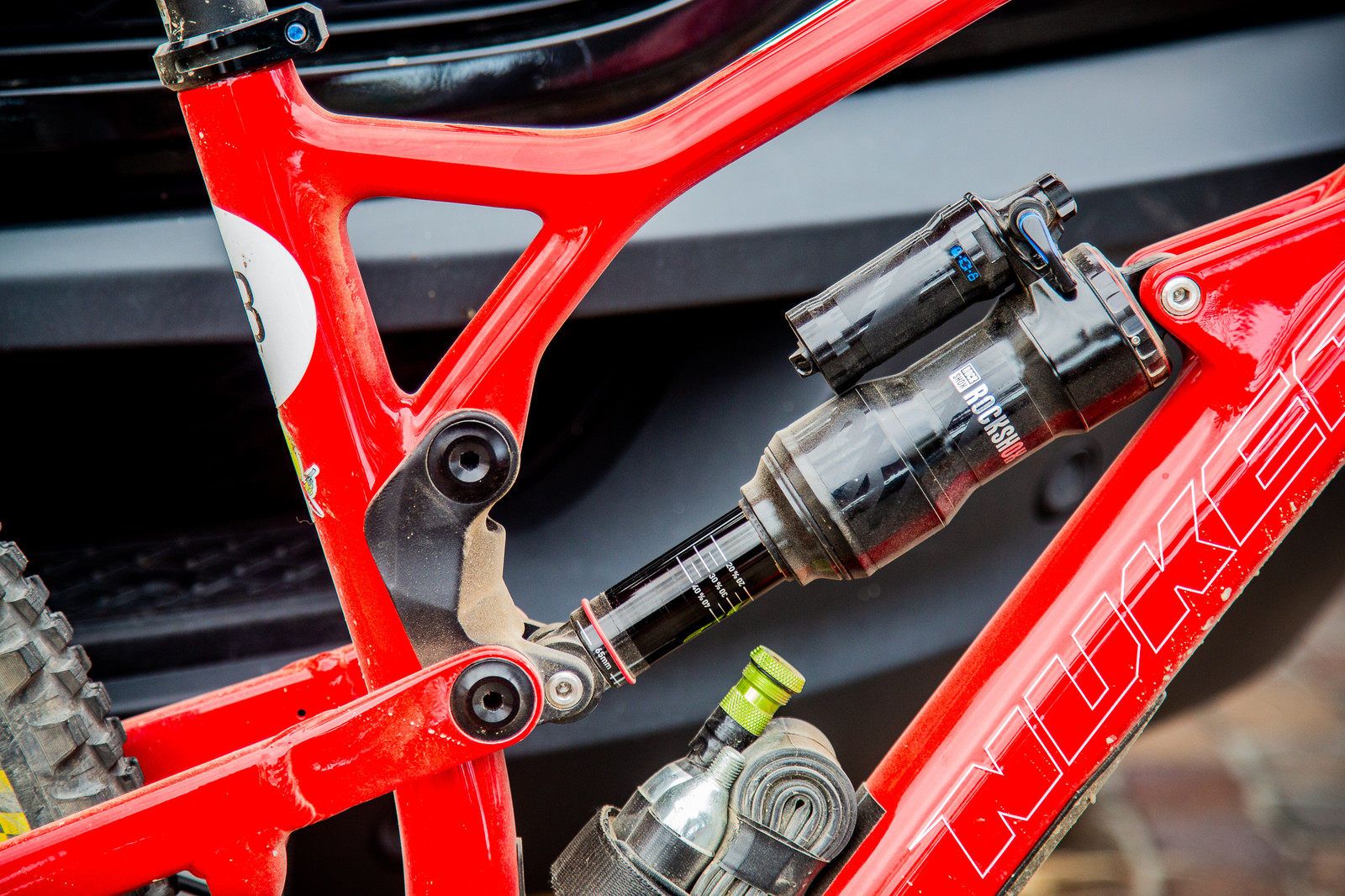 Sam Hill's Custom Trophy of Nations Nukeproof Mega - PIT BITS - Enduro Trophy of Nations - Mountain Biking Pictures - Vital MTB
