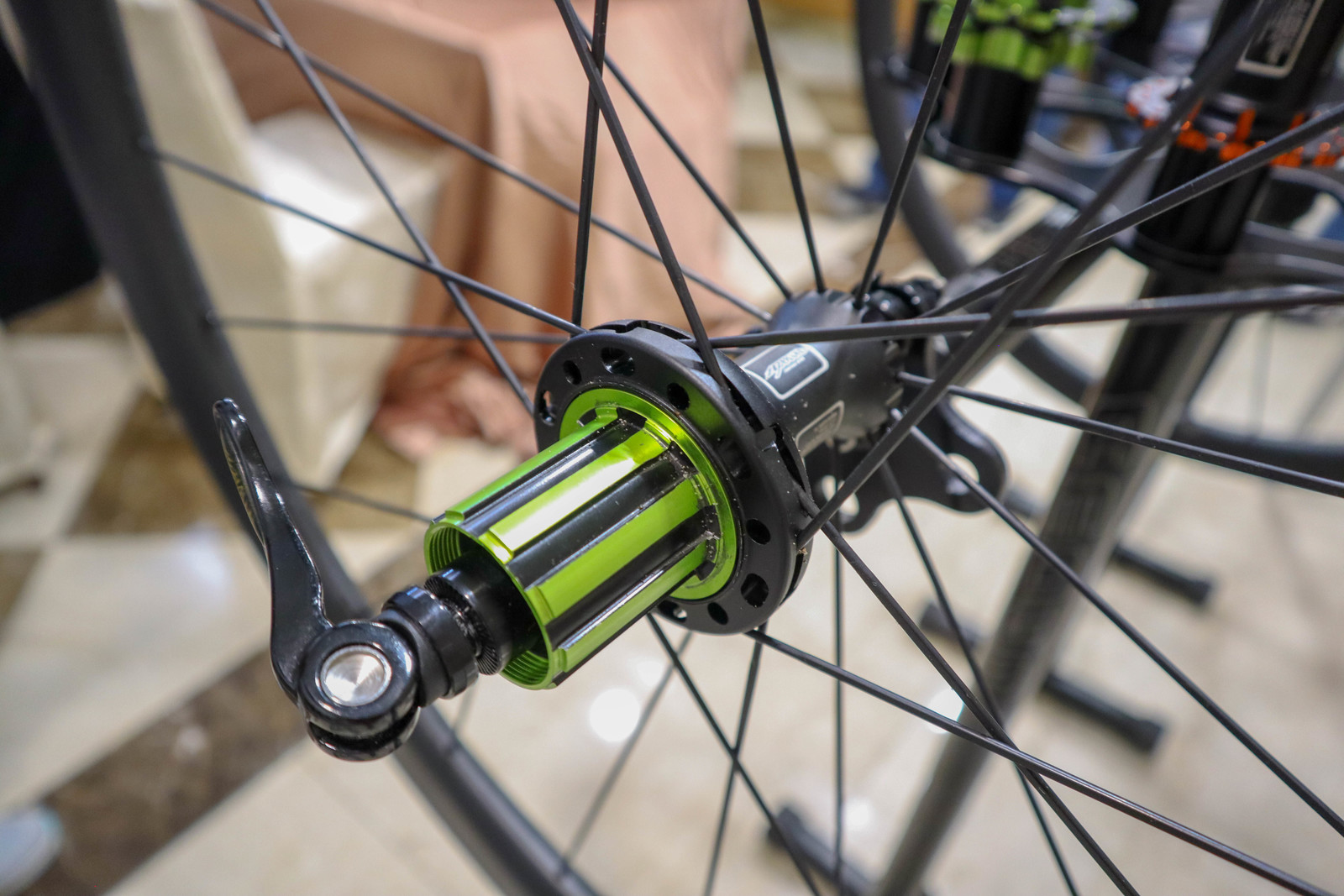 Amoeba's Silent Hub with Instant Engagement - Crazy Bike Tech from Taichung Bike Week - Mountain Biking Pictures - Vital MTB