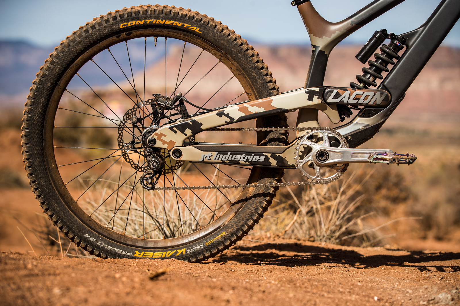 Andreu Lacondeguy's YT TUES at Rampage 2019 - RAMPAGE BIKE - Andreu Lacondeguy's YT TUES - Mountain Biking Pictures - Vital MTB