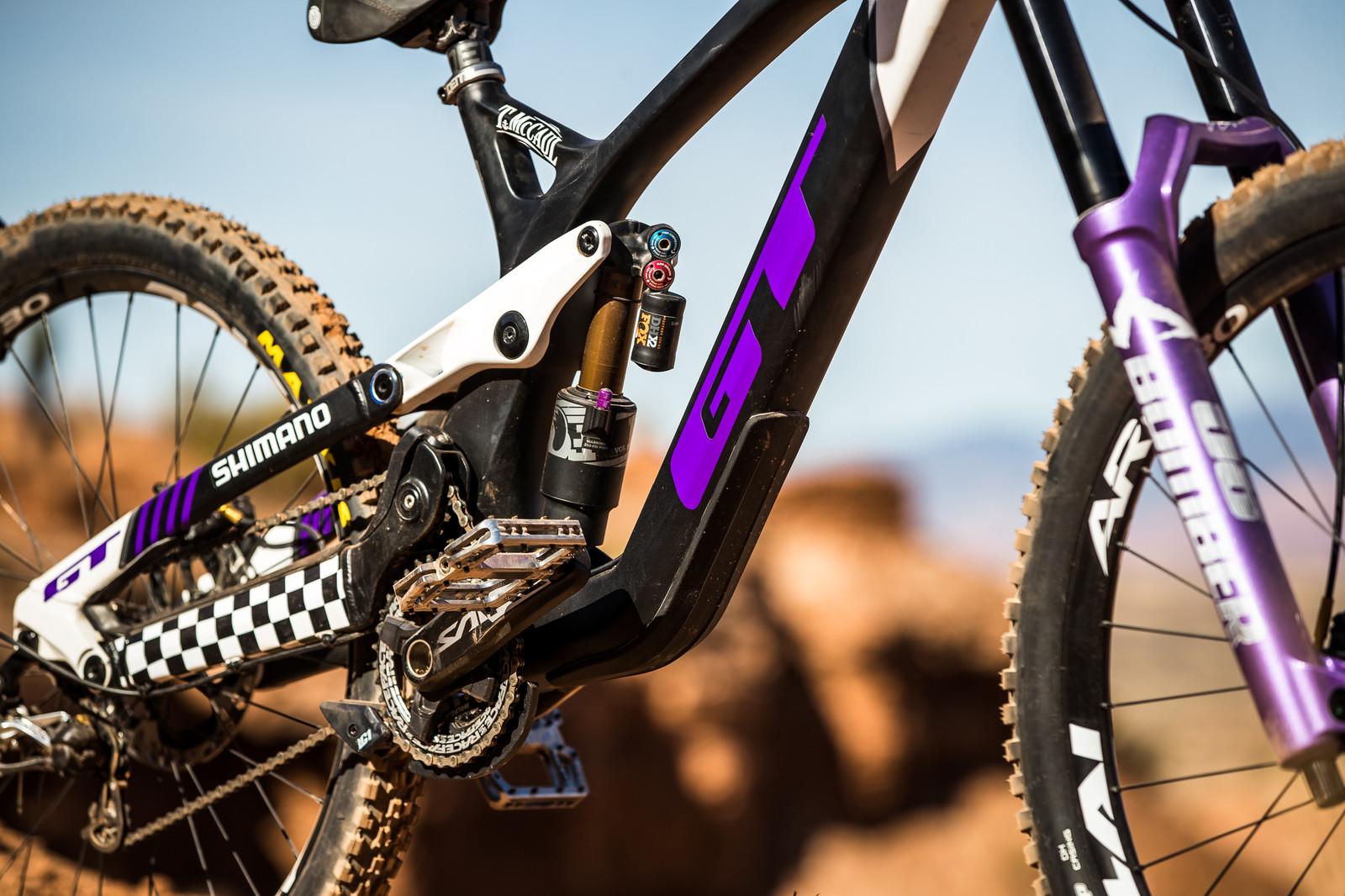 Purple Pop - Tyler McCaul's GT Fury for Rampage 2019 - RAMPAGE BIKE - Tyler McCaul's GT Fury - Mountain Biking Pictures - Vital MTB