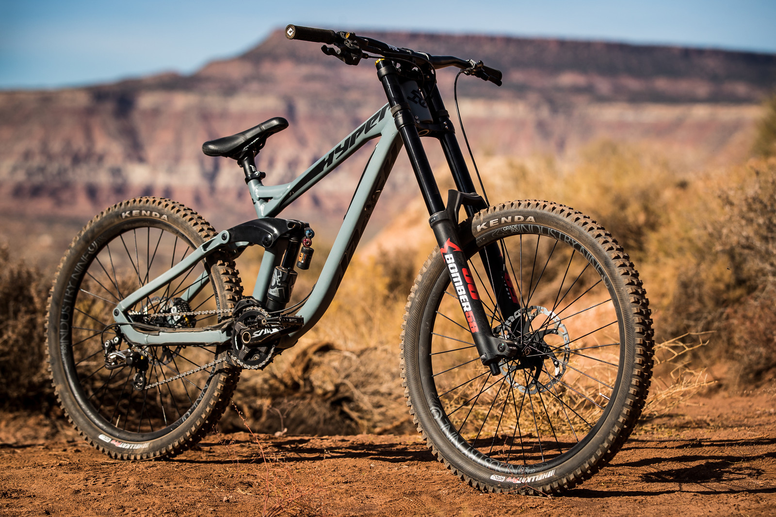 RAMPAGE BIKE - Tom van Steenbergen's Hyper - RAMPAGE BIKE - Tom van Steenbergen's Hyper - Mountain Biking Pictures - Vital MTB