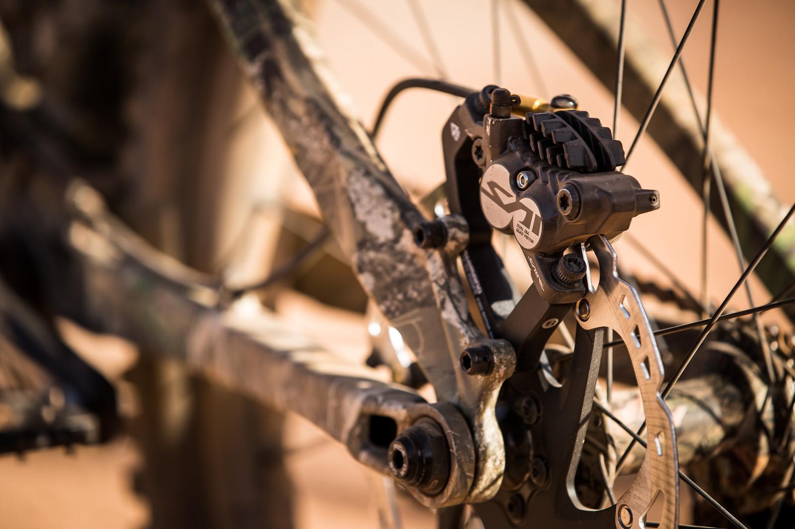 Saint Brakes on Brett Rheeder's Trek Session at Rampage 2019 - RAMPAGE BIKE - Brett Rheeder's Trek Session - Mountain Biking Pictures - Vital MTB