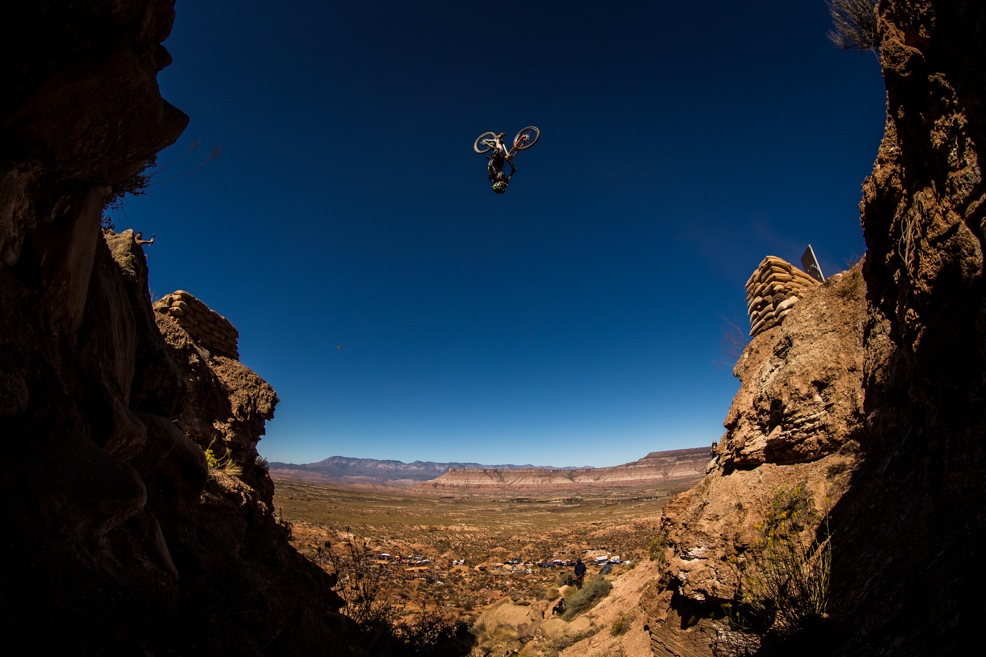 Brendog Blasts his Canyon Gap at Red Bull Rampage 2019 - 2019 Red Bull Rampage Finals Photos by @maddogboris - Mountain Biking Pictures - Vital MTB