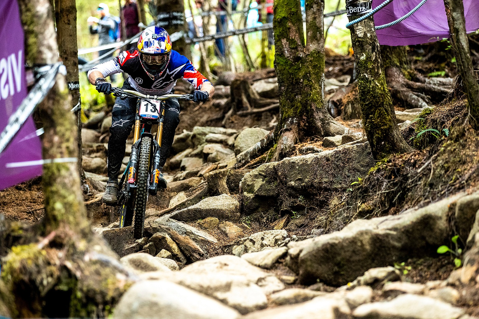 Fort William Frenzy, Brook Macdonald - A Big Bad Batch of Brook Macdonald Bangers - Mountain Biking Pictures - Vital MTB