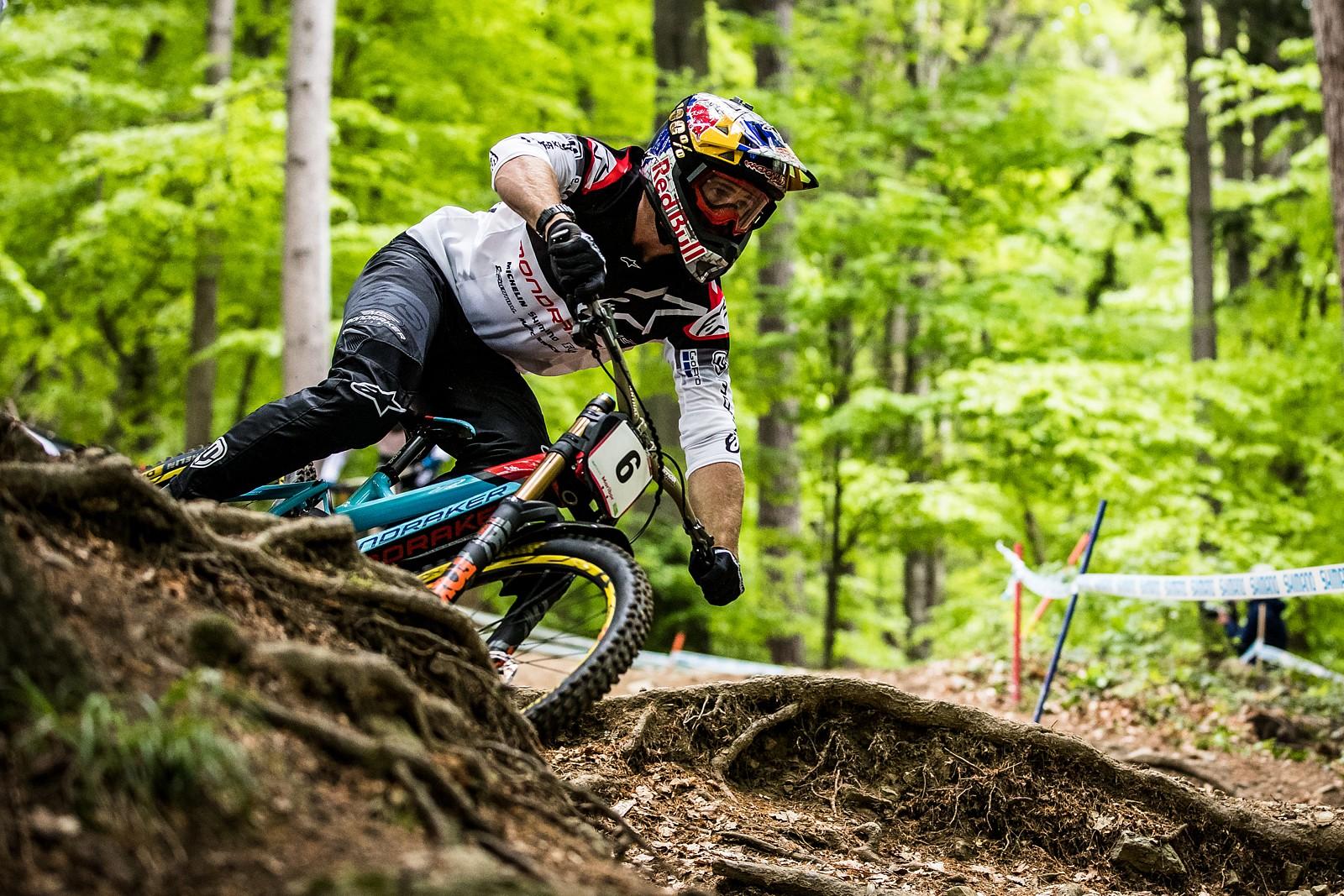 Brook Macdonald, Maribor World Cup - A Big Bad Batch of Brook Macdonald Bangers - Mountain Biking Pictures - Vital MTB