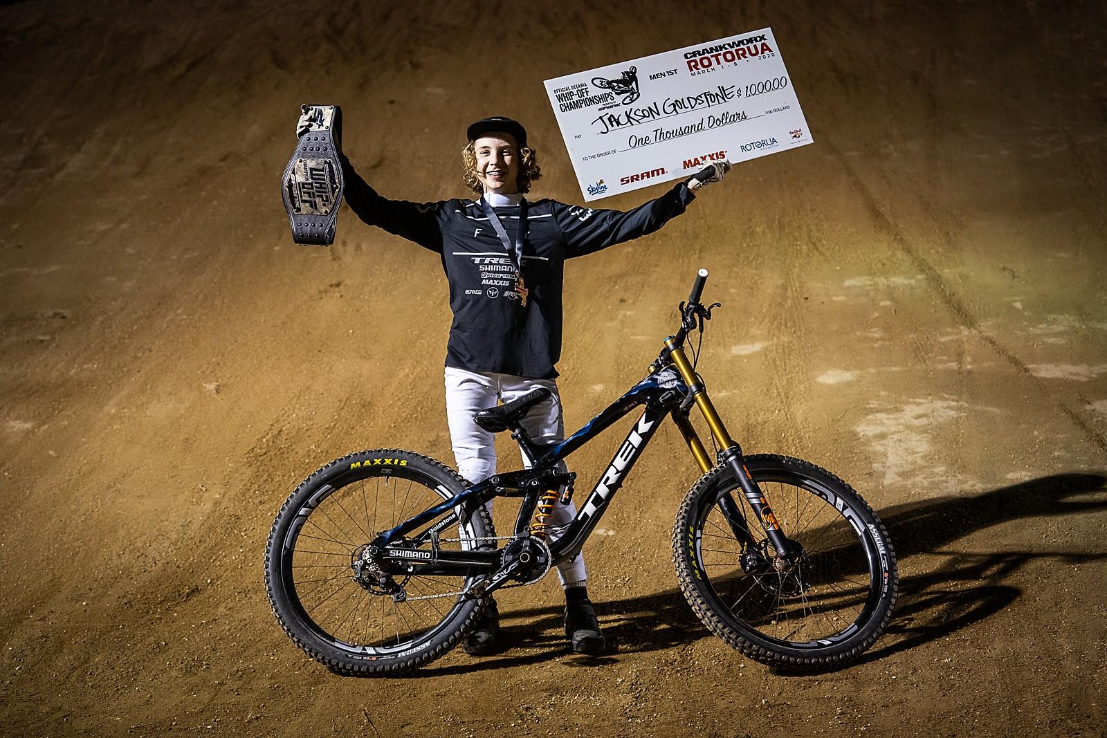 Jackson Goldstone Wins - Crankworx New Zealand Whip-Off Photo Gallery - Mountain Biking Pictures - Vital MTB