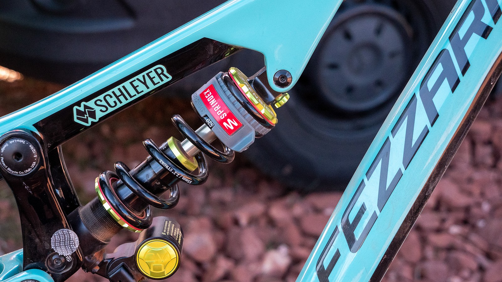 Sprindex on Schley's Fezzari - PIT BITS - Sedona Mountain Bike Festival 2020 - Mountain Biking Pictures - Vital MTB