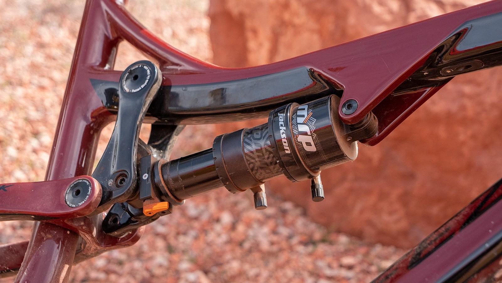 Prototype MRP Jackson Air Shock - PIT BITS - Sedona Mountain Bike Festival 2020 - Mountain Biking Pictures - Vital MTB