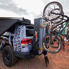 Rubicon Expedition Hitch Tent / Bike Rack Combo