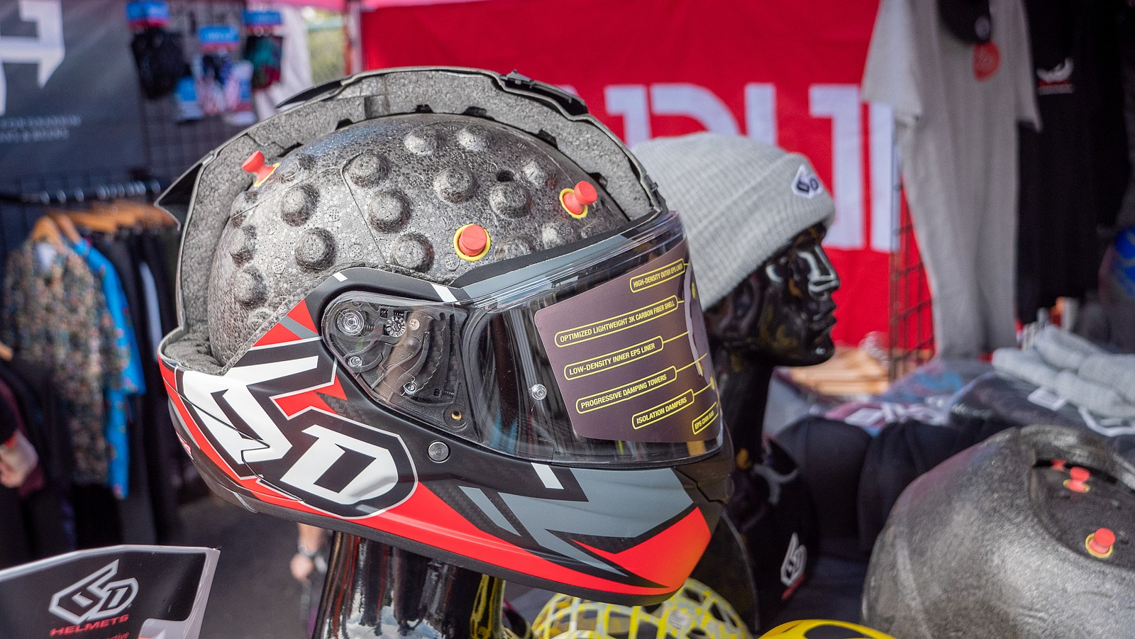6D Helmet Technology - PIT BITS 2 - Sedona Bike Festival 2020 - Mountain Biking Pictures - Vital MTB