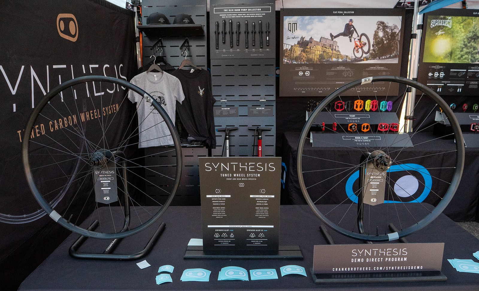 Crankbrothers Synthesis Wheels Demo - PIT BITS 2 - Sedona Bike Festival 2020 - Mountain Biking Pictures - Vital MTB