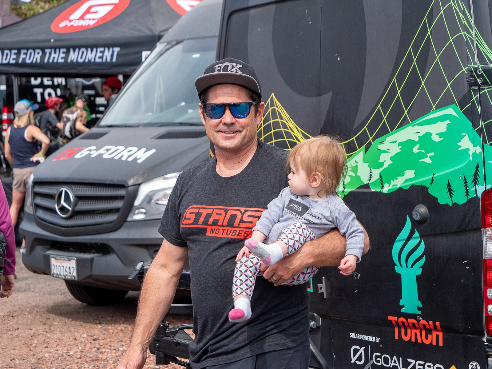 Kenny is a Dad - PIT BITS 2 - Sedona Bike Festival 2020 - Mountain Biking Pictures - Vital MTB