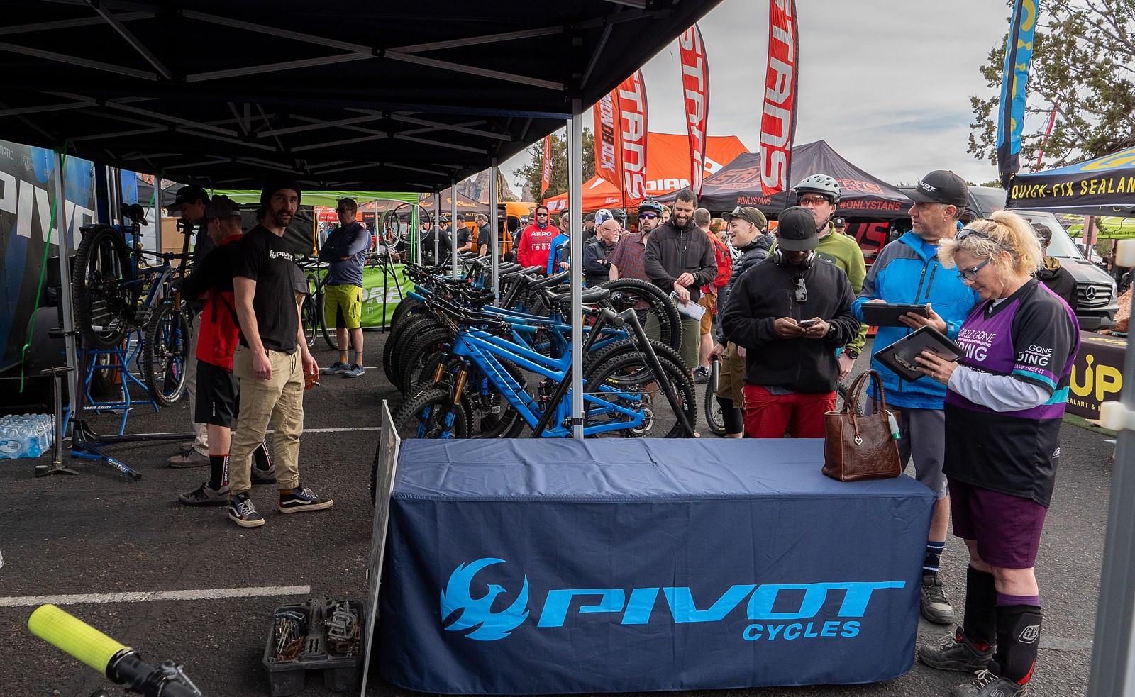 Pivot Demo - PIT BITS 2 - Sedona Bike Festival 2020 - Mountain Biking Pictures - Vital MTB