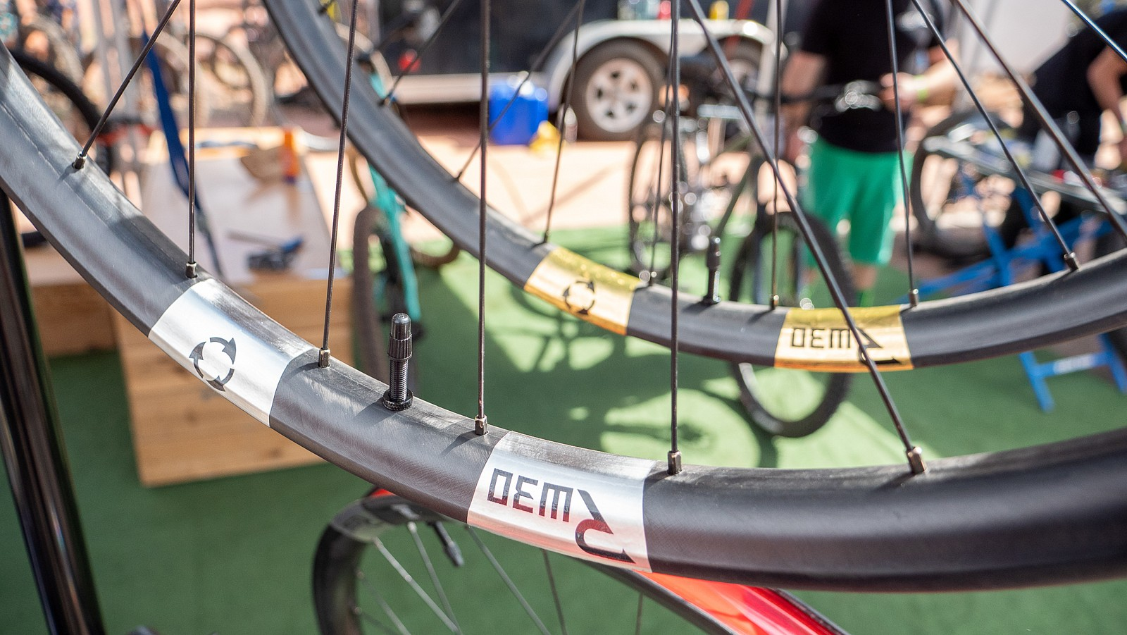 New Revel Recyclable Wheels - PIT BITS 2 - Sedona Bike Festival 2020 - Mountain Biking Pictures - Vital MTB