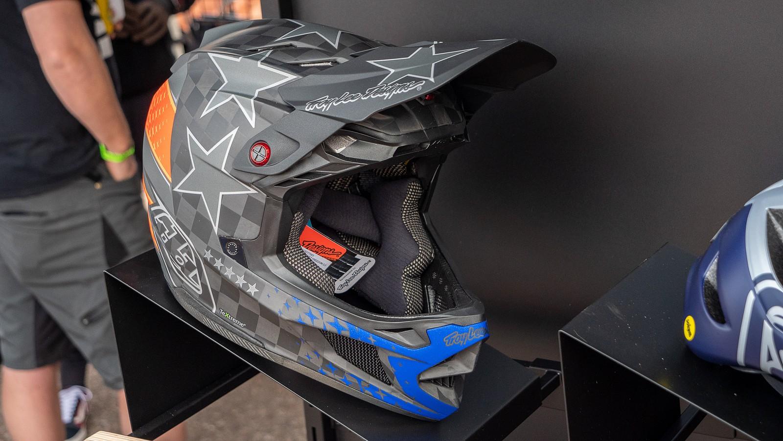 Troy Lee Designs D4 Helmet - PIT BITS 2 - Sedona Bike Festival 2020 - Mountain Biking Pictures - Vital MTB