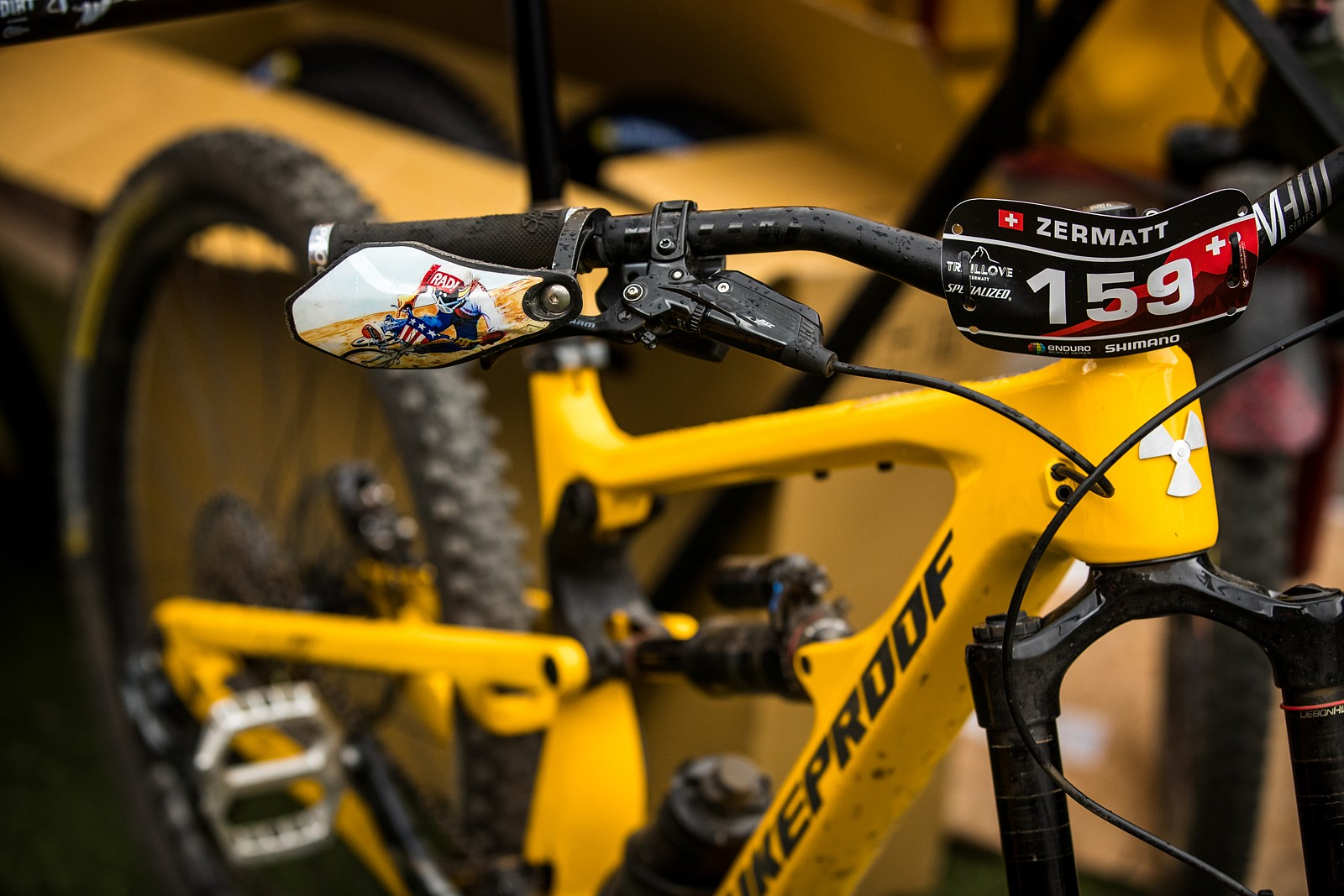 PIT BITS - EWS Zermatt - A New Nukeproof? - PIT BITS - Enduro World Series, Zermatt - Mountain Biking Pictures - Vital MTB