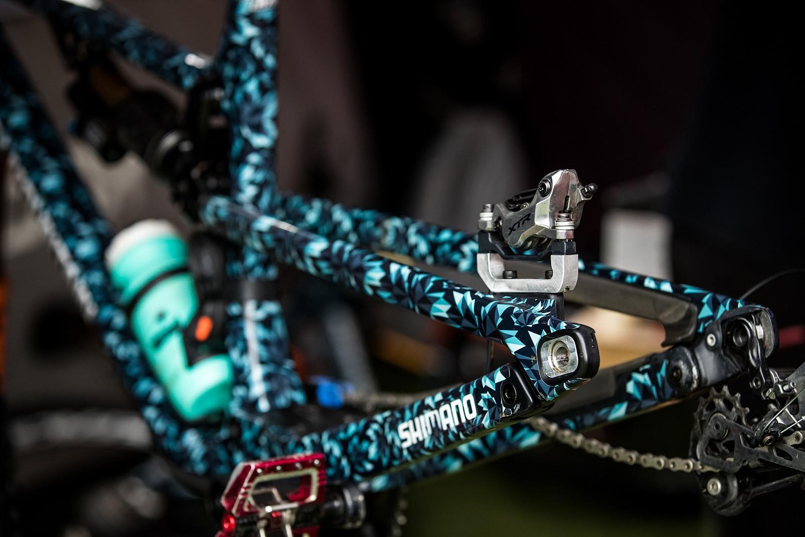 Camouflage - PIT BITS - Enduro World Series, Zermatt - Mountain Biking Pictures - Vital MTB