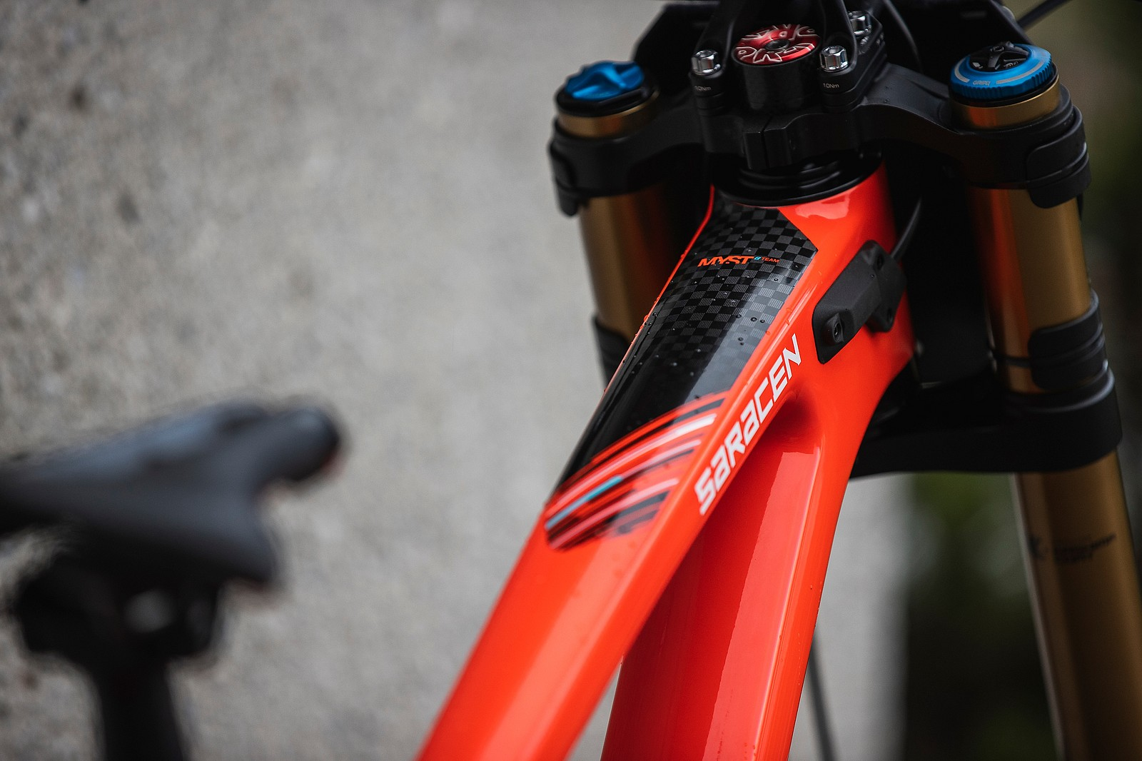 LeogangWorlds20  H1D3403 - DANNY HART'S WORLD CHAMPS SARACEN MYST - Mountain Biking Pictures - Vital MTB