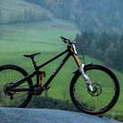 WORLD CHAMPS BIKE - Charlie Hatton's Atherton Downhill Bike
