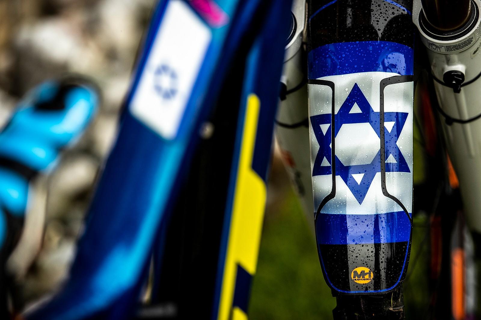 Noga Korem Repping Israel - WORLD CHAMPS BIKES - GT Factory Racing - Mountain Biking Pictures - Vital MTB