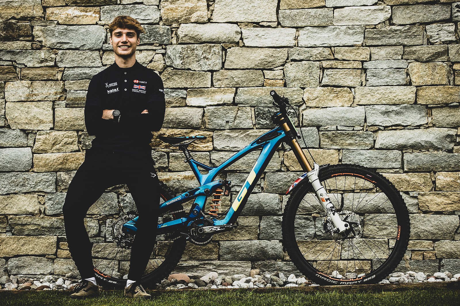Ethan Craik, Ready for the Wet - WORLD CHAMPS BIKES - GT Factory Racing - Mountain Biking Pictures - Vital MTB