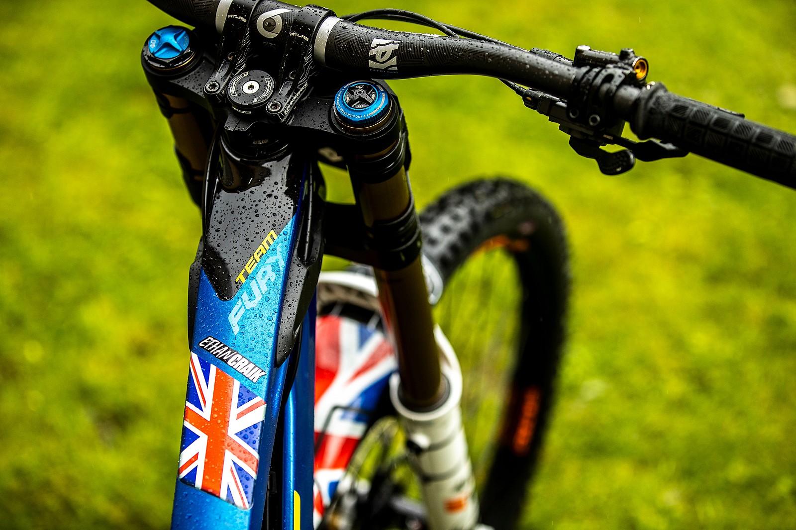 Ethan Craik's GT Fury - WORLD CHAMPS BIKES - GT Factory Racing - Mountain Biking Pictures - Vital MTB