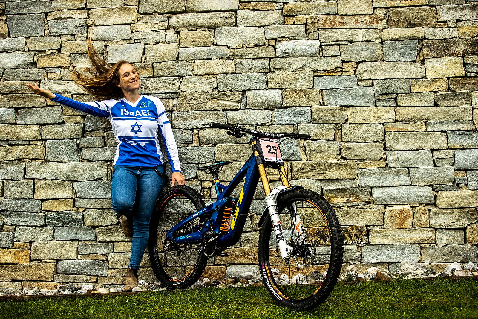 Noga Korem, Amped Up with Her GT Fury - WORLD CHAMPS BIKES - GT Factory Racing - Mountain Biking Pictures - Vital MTB