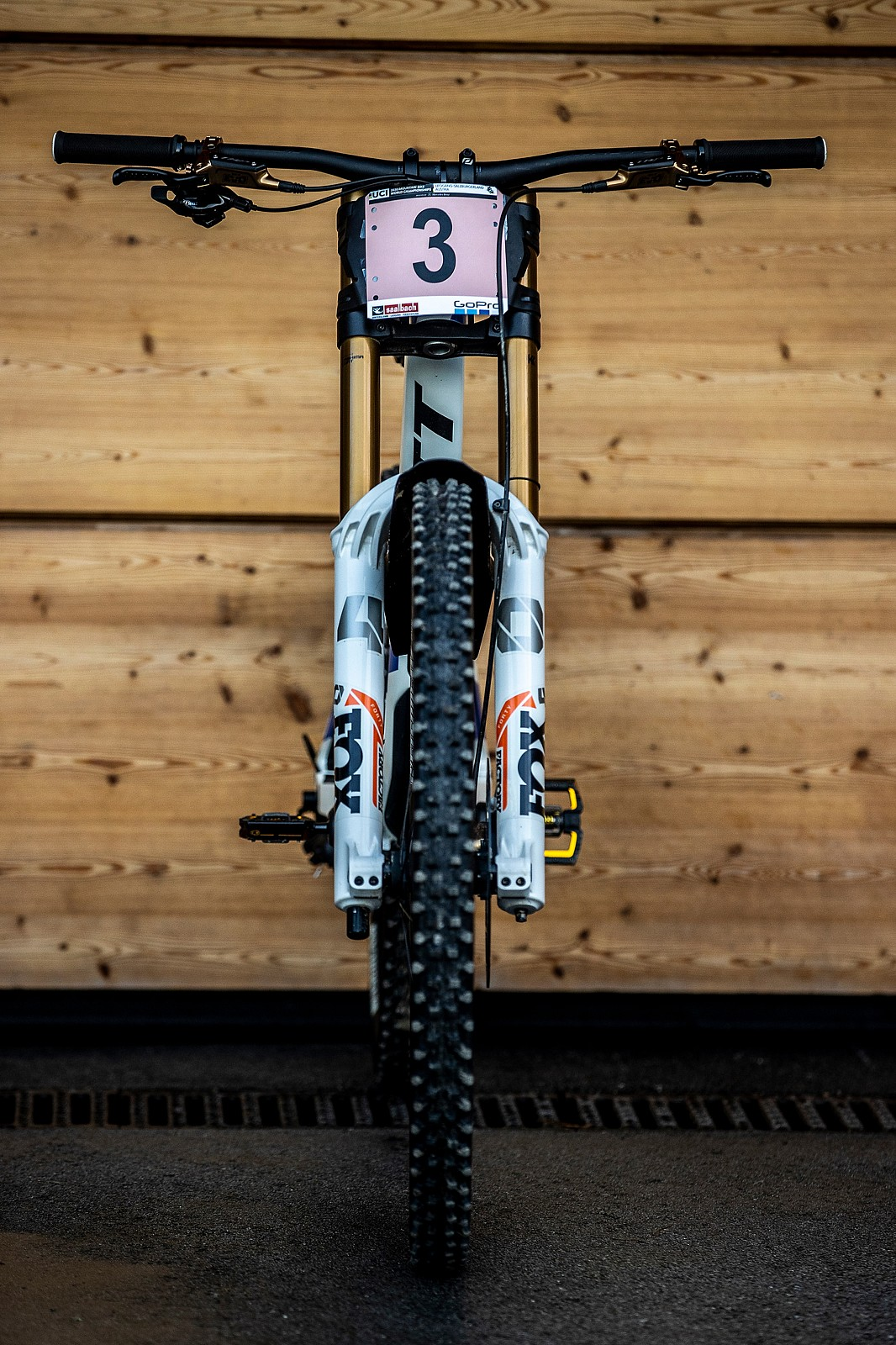 Turn That 3 into a 1 - WORLD CHAMPS BIKE - Marine Cabirou's Scott Gambler - Mountain Biking Pictures - Vital MTB