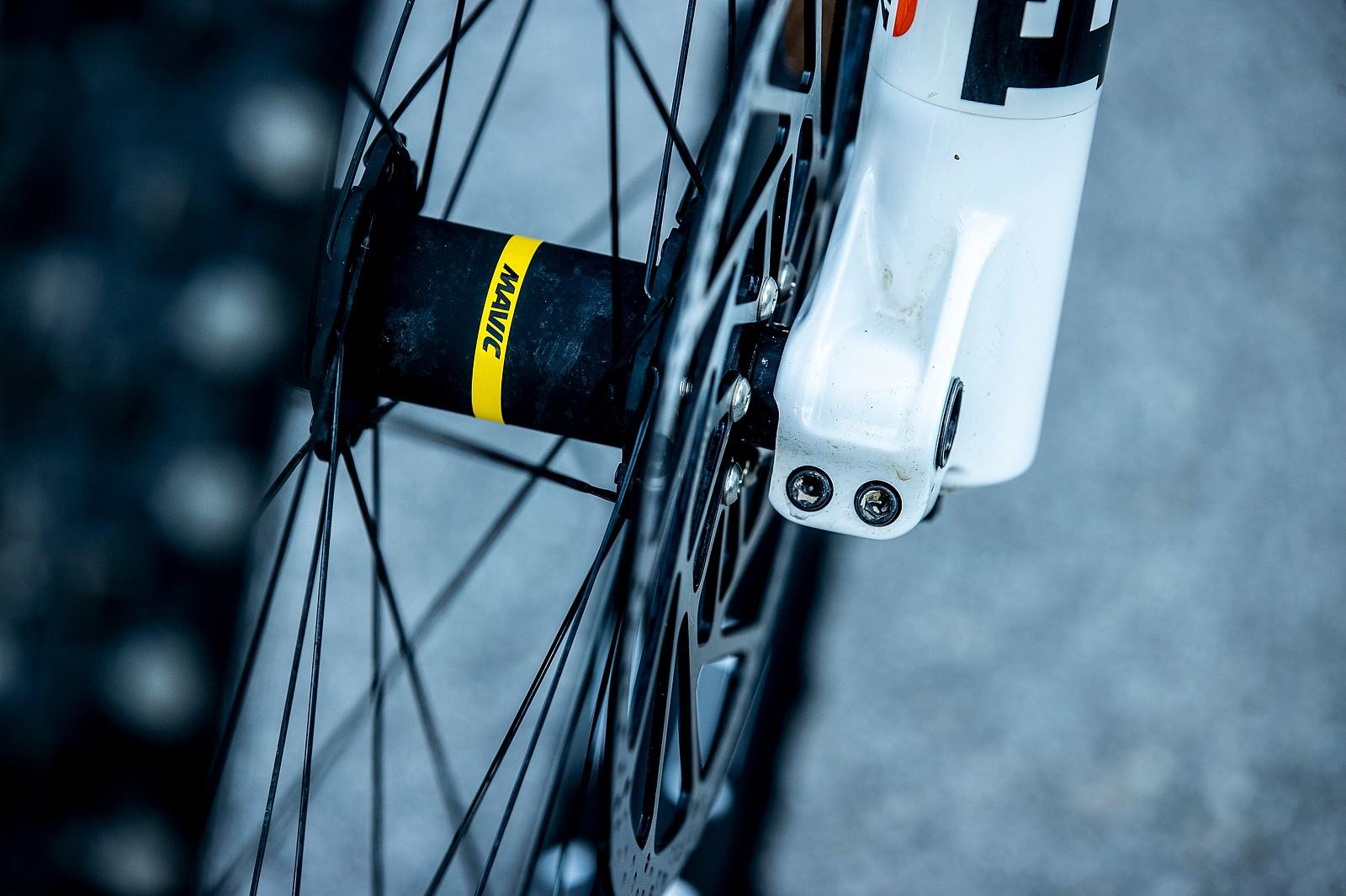 Mavic Wheels - WORLD CHAMPS BIKE - Marine Cabirou's Scott Gambler - Mountain Biking Pictures - Vital MTB