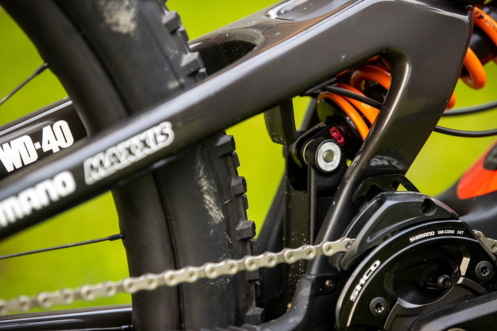 Flip Chip - WORLD CHAMPS BIKE - Greg Minnaar's Santa Cruz V10 - Mountain Biking Pictures - Vital MTB