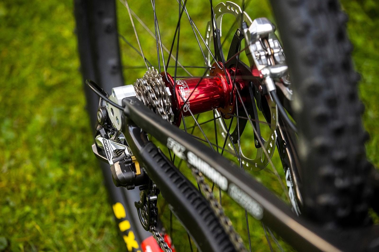 Refined - WORLD CHAMPS BIKE - Greg Minnaar's Santa Cruz V10 - Mountain Biking Pictures - Vital MTB