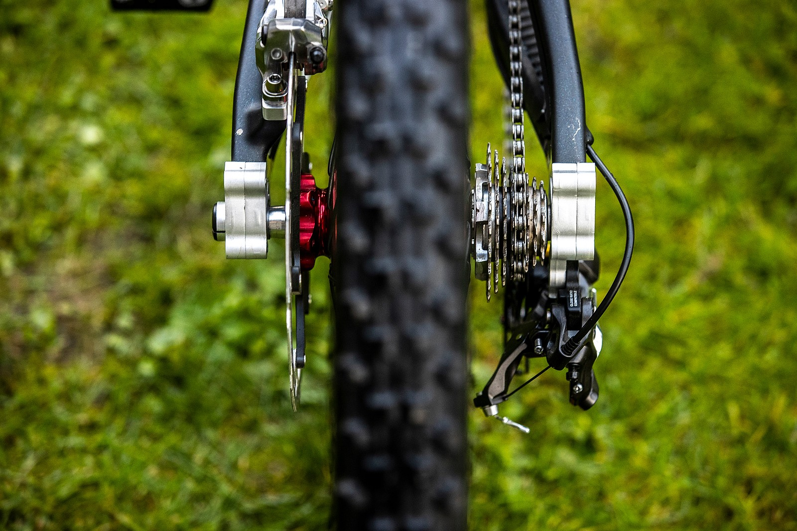 Rear End - WORLD CHAMPS BIKE - Greg Minnaar's Santa Cruz V10 - Mountain Biking Pictures - Vital MTB