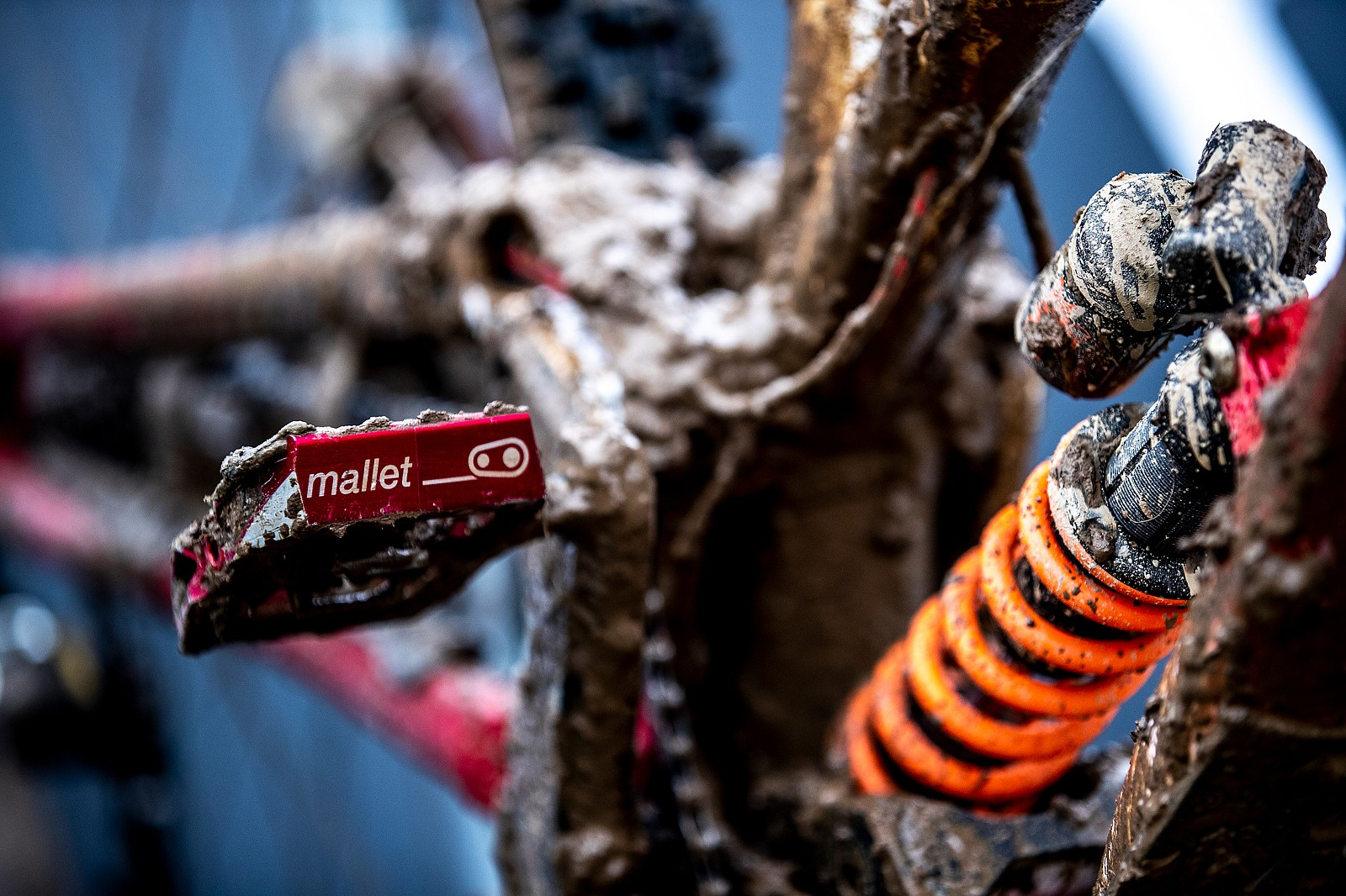 CrankBros Mallet Pedals - WINNING BIKE: Camille Balanche's Commencal Supreme from World Champs - Mountain Biking Pictures - Vital MTB