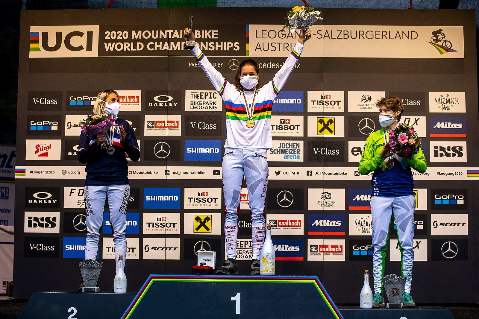 Camille Balanche, 2020 DH MTB World Champion! - WINNING BIKE: Camille Balanche's Commencal Supreme from World Champs - Mountain Biking Pictures - Vital MTB